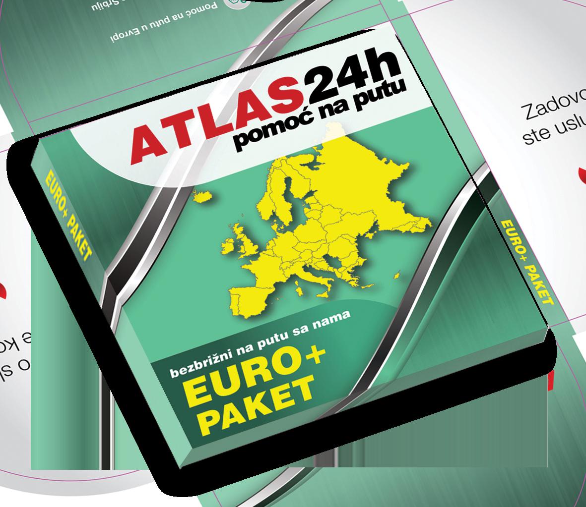 24h Roadside Assistance - Euro+-Paket-3D - pomoć na putu